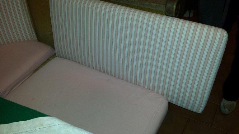 sostituzione fodera divano