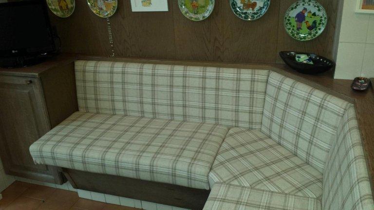 sostituzione fodera divano lavoro finito
