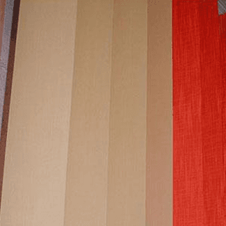 Veneziane con lamelle colorate