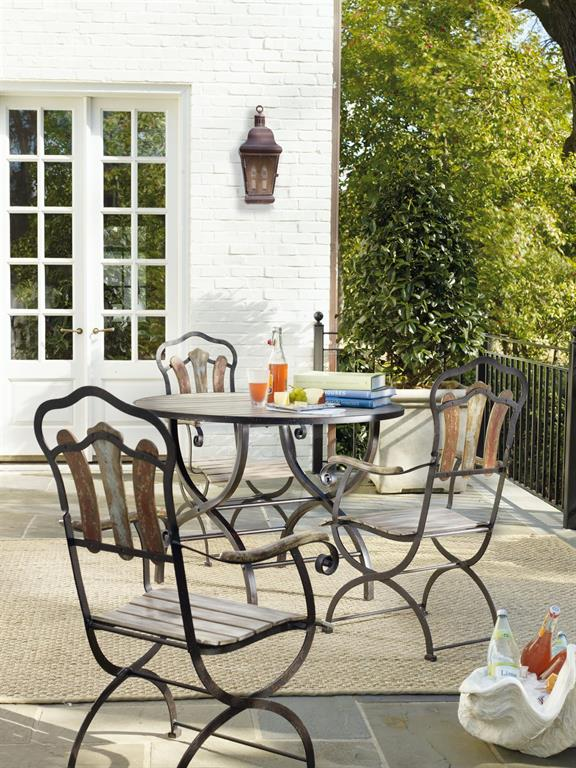 Melange Bistro table & chairs