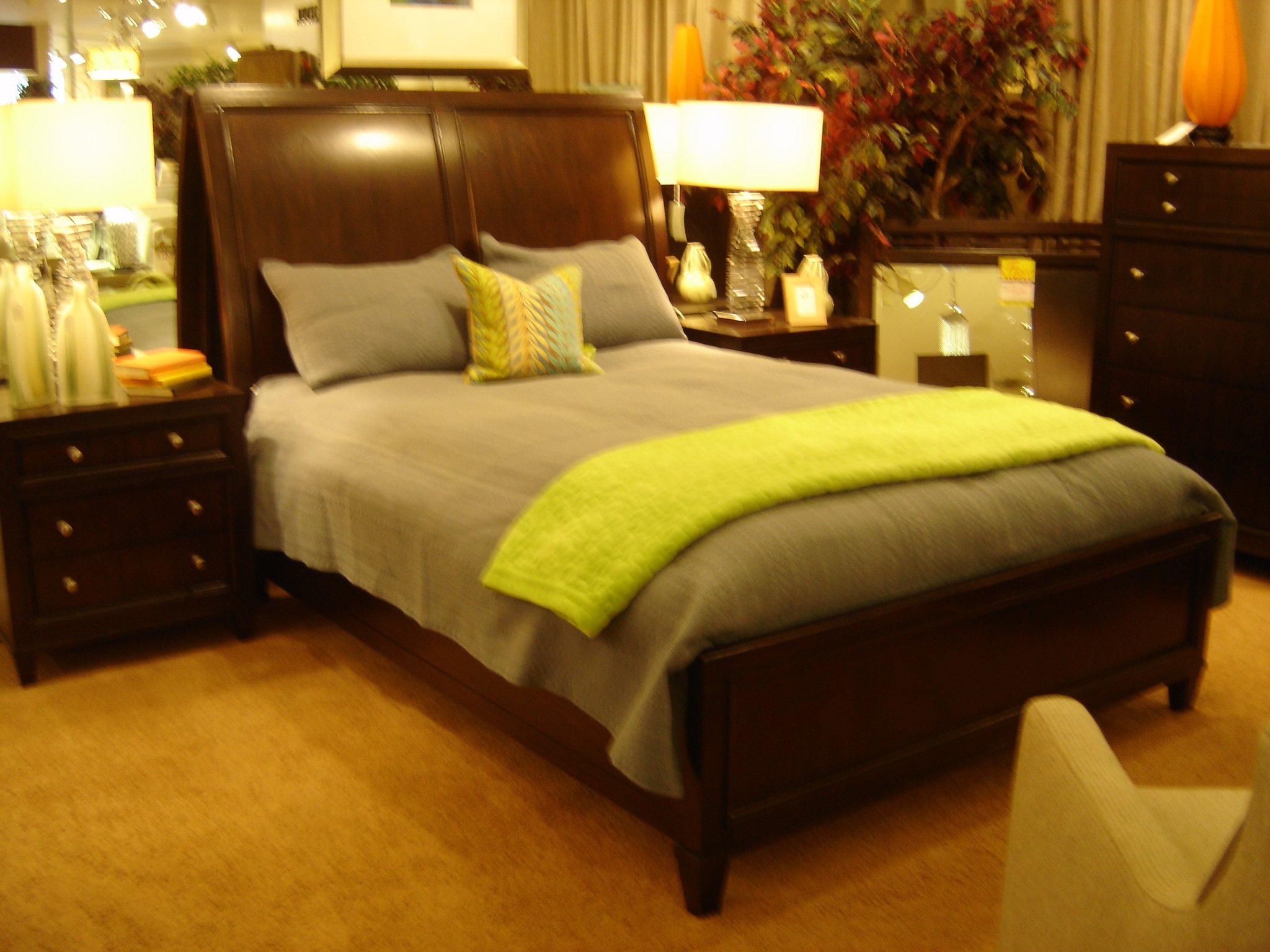 4 piece queen bedroom set, deep espresso finish