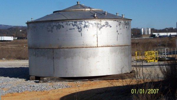metal fabricated silo