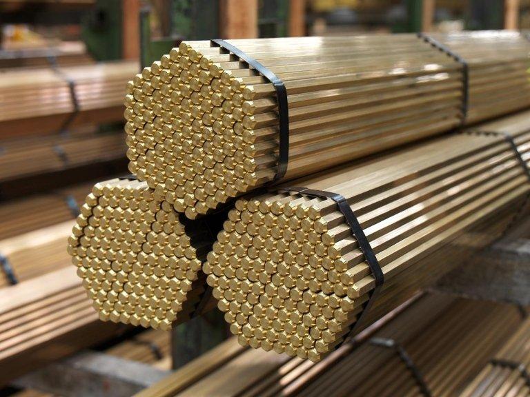 Barre di ottone novara vezzola metalli for Quotazione barra ottone