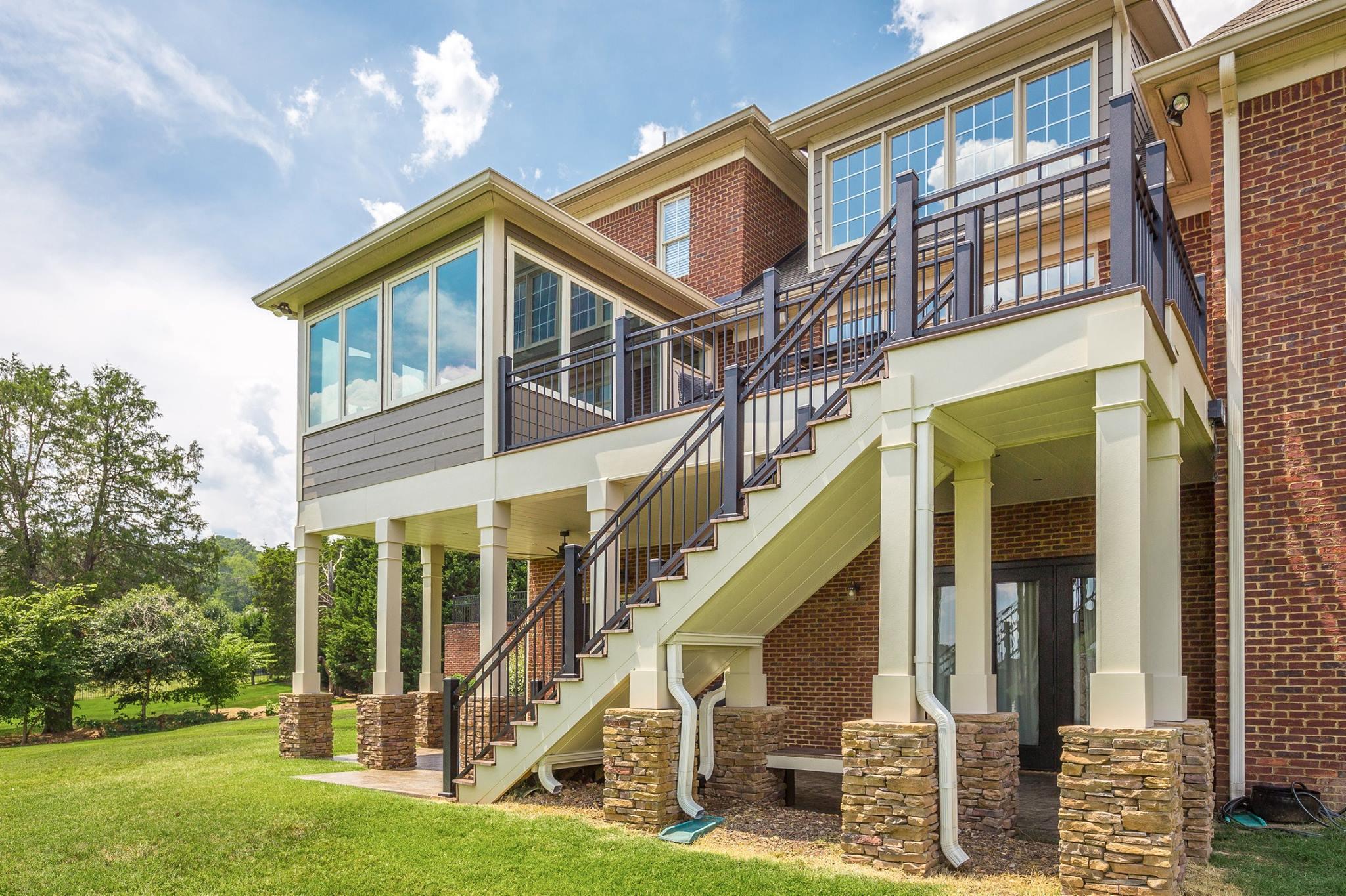 Deck Design & Installation | Chattanooga Exteriors