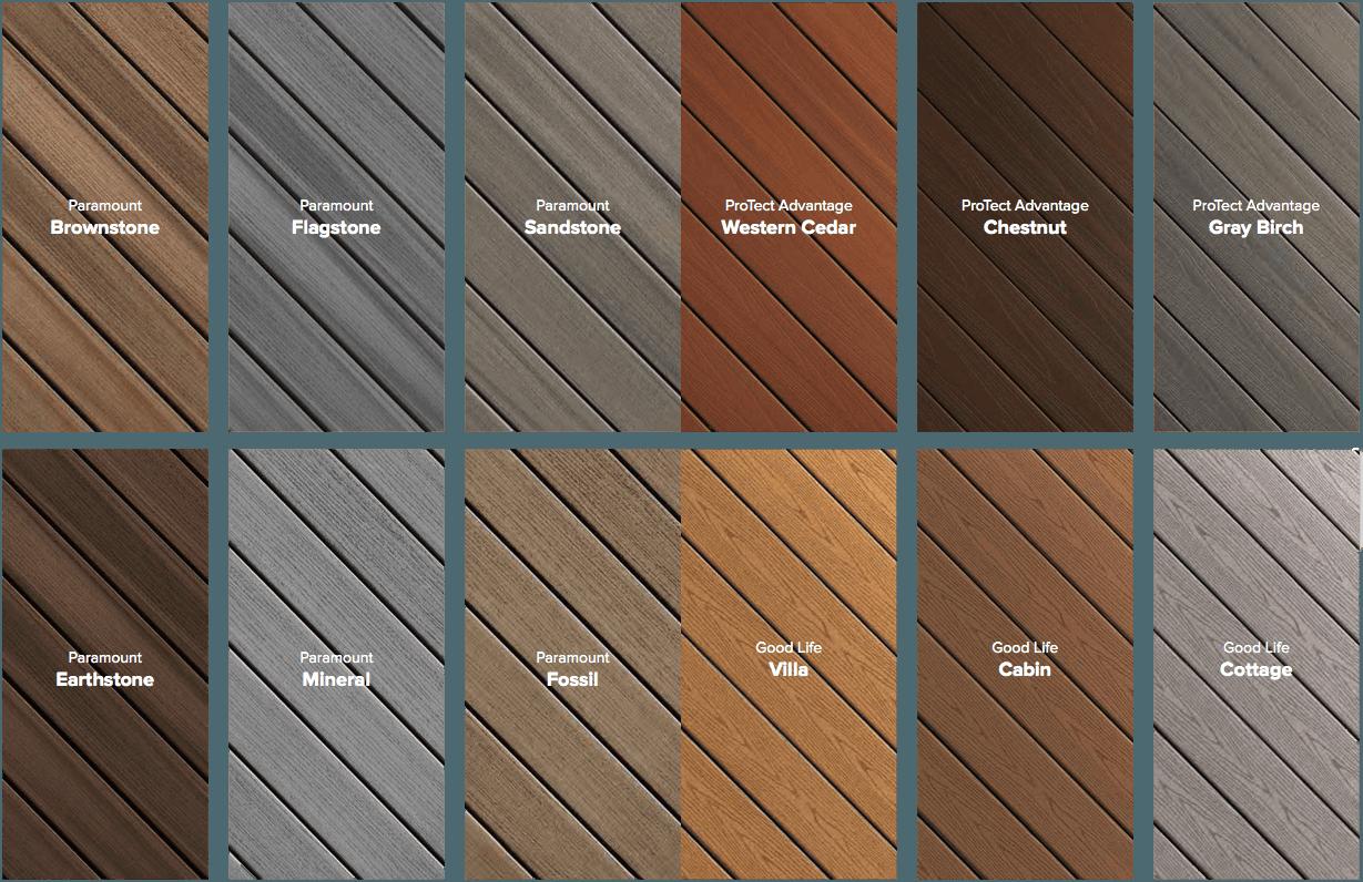 Deck Design & Colors