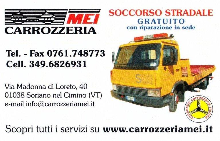 Autoccarrozzeria, carrozzeria, Soccorso stradale, Soriano Nel cimino, Viterbo