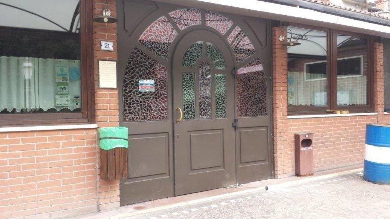 Portoncino ingresso in stile