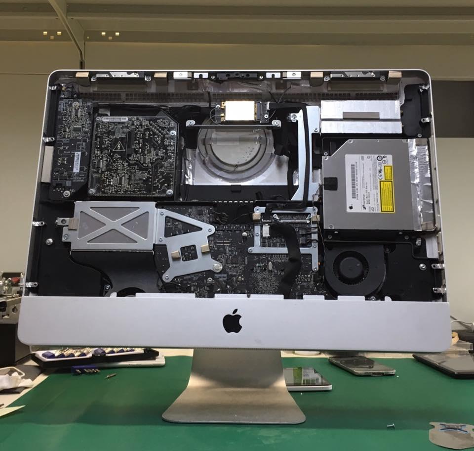 Struttura interna di un monitor Apple