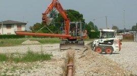 Gnoato Escavazioni e Lavori Edili, Cittadella (PD), cantiere fognature