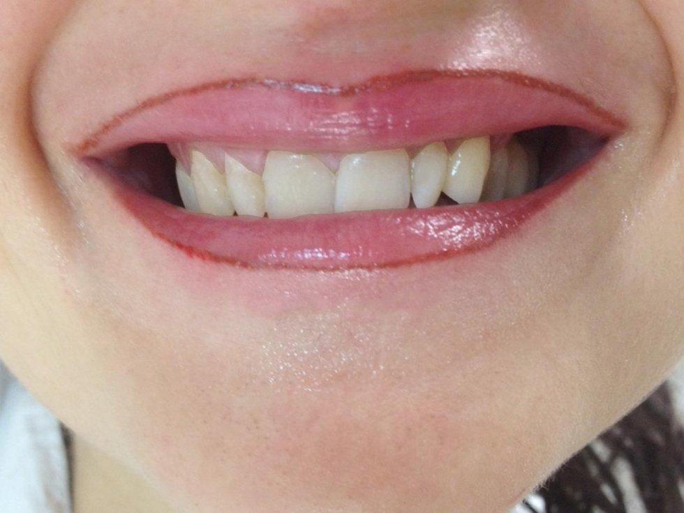 Trucco tatuato  labbra