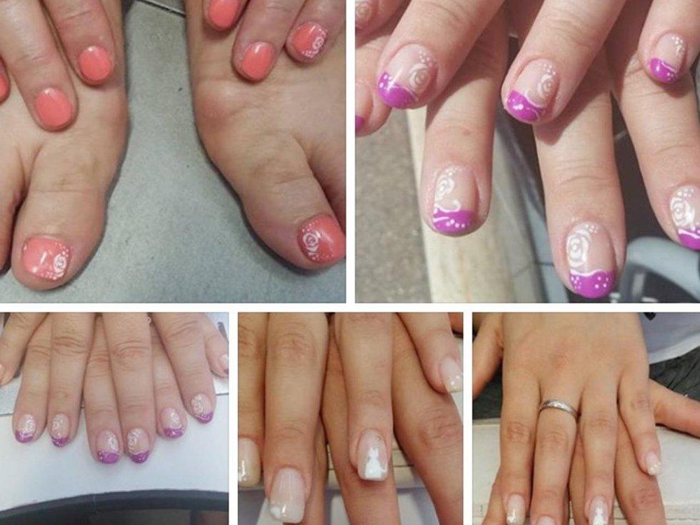 Nail art mani e piedi