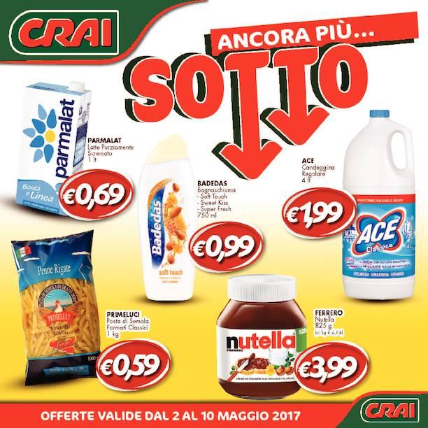 Offerte dil supermercato Crai