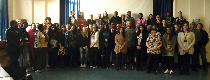 HBV and FGM Teachers Training Day - group photo
