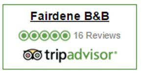 Reviews on tripadvisor -  Fairdene B&B