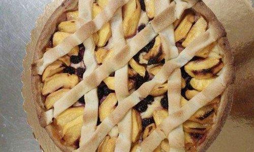 Una crostata di mele