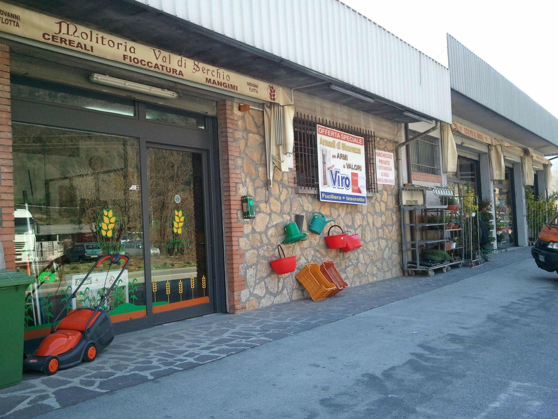 Esterno di un negozio