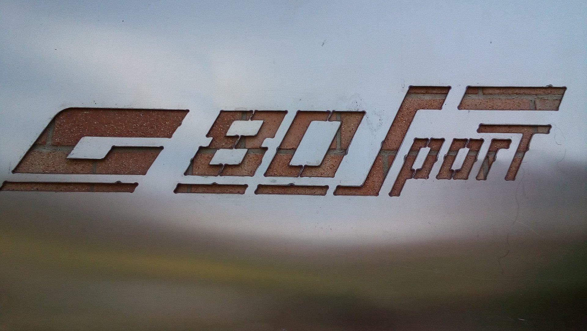 G80 SPORT SERVICE - LOGO