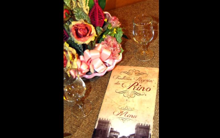 Menu alla carta, menu turistici, Rieti