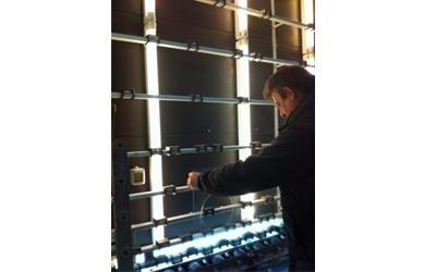 installazione di vetrate