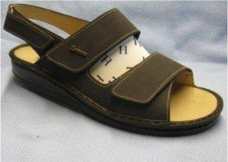 Hergos - Sandalo uomo - Testa di moro