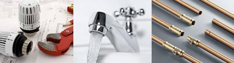 Attrezzi per termoregolazione e impianti idraulici
