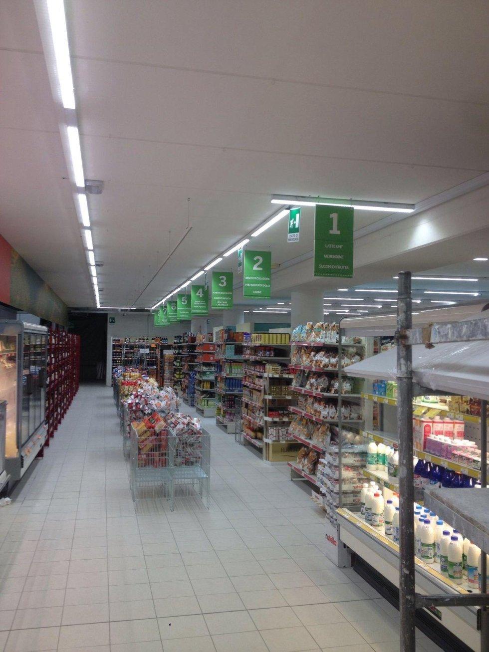 grafica per supermercati