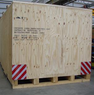 Imballaggi in legno e compensato