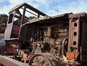 sydney copper recycling tractor junk