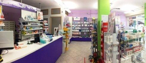 Vista interna farmacia