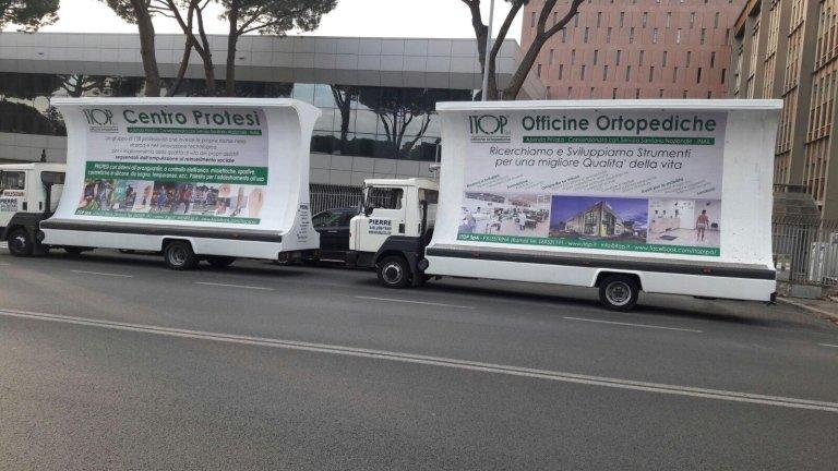camion vele pubblicitarie