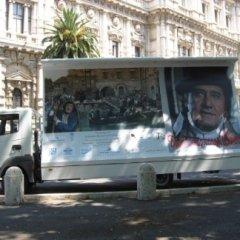 camion vela roma