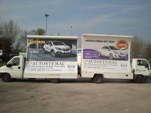 vele pubblicitarie roma