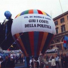 noleggio gonfiabili, pallone a strisce eventi, palloni per eventi, roma