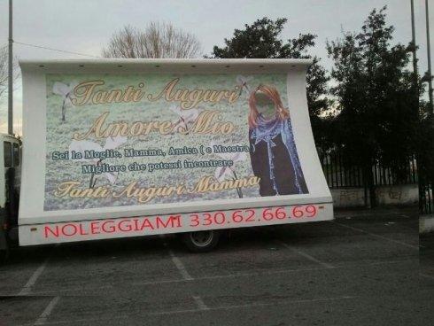 camion vela per compleanno