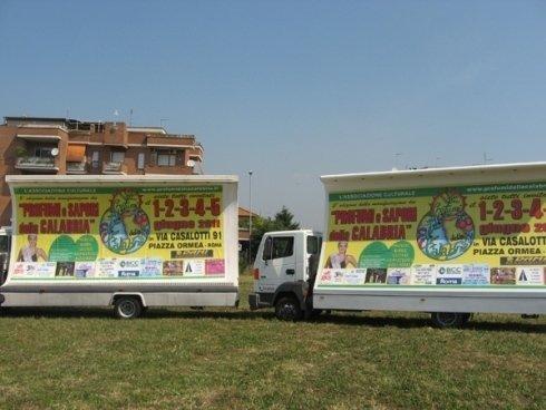 camion vela pubblicità