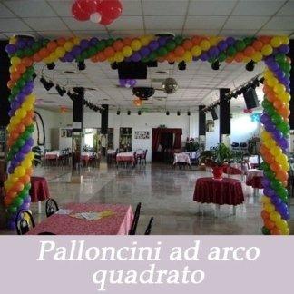 Palloncini arco quadrato