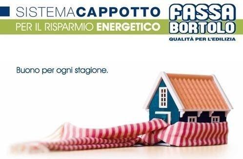 Sistema a cappotto, isolamento termico a cappotto Fassa Bortolo