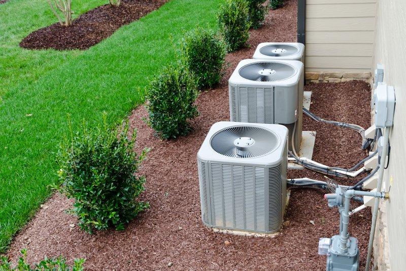 3 AC units outside of residence