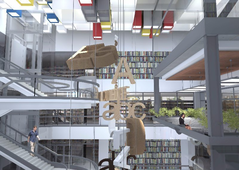 Jeremie Malan Architects and Interiors Latest Project UNISA Library Muckleneuk Campus