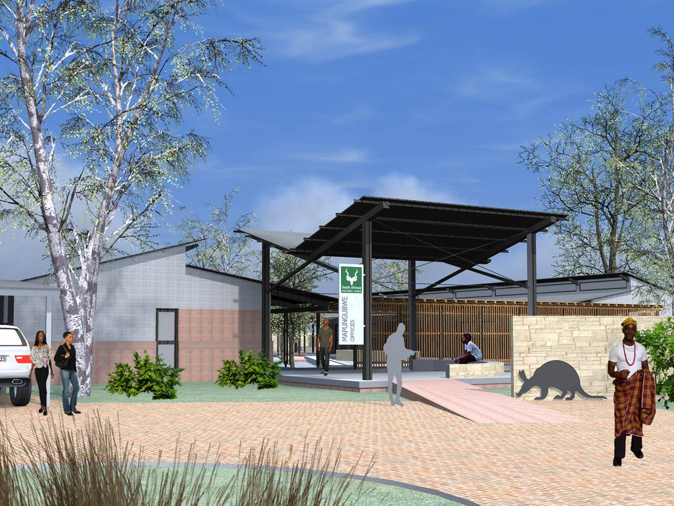 Jeremie Malan Architects and Interiors SANParks - Mapungubwe Offices