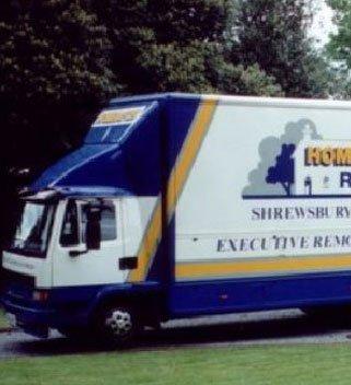 spacious removals van