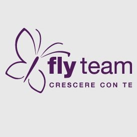 fly team crescere con te logo