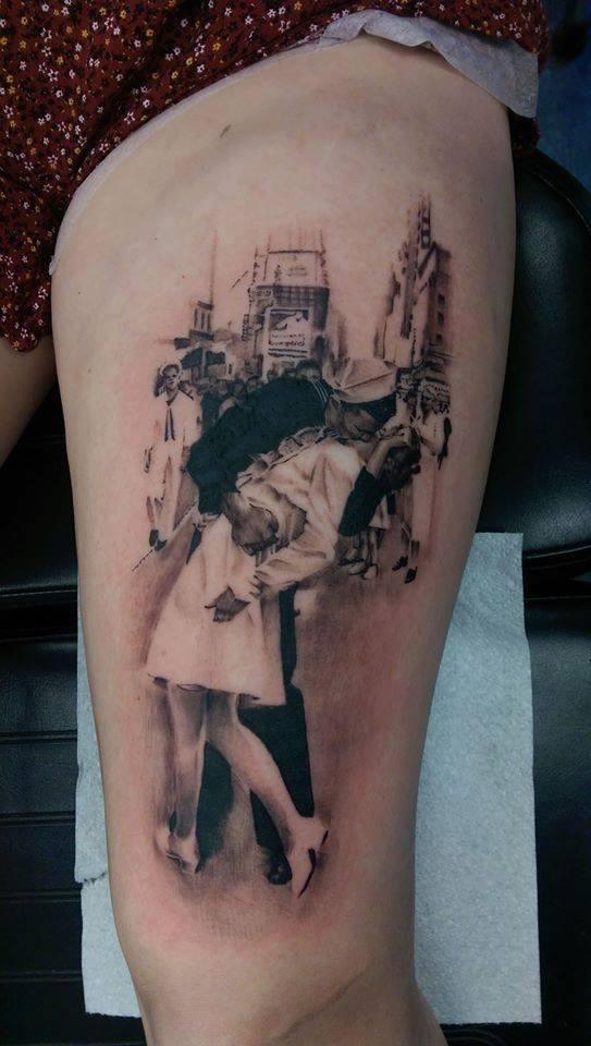 Lee's tattoos