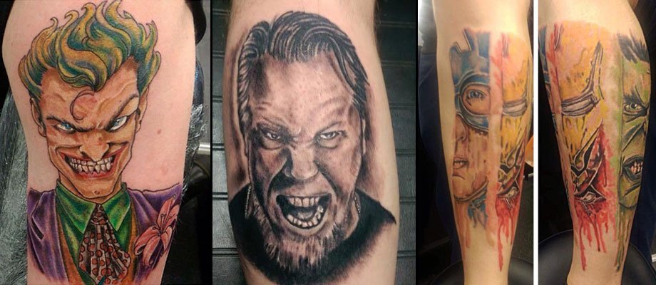 angry tattoos