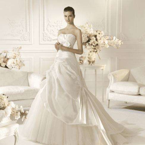 abito doppio da sposa