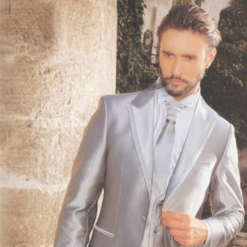 vestito sposo argento
