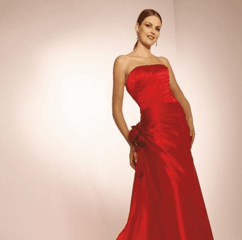 abito sposa rosso