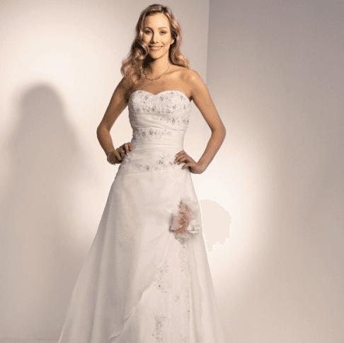 abito sposa fiocco