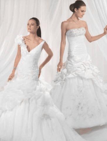 abiti sposa lavorati