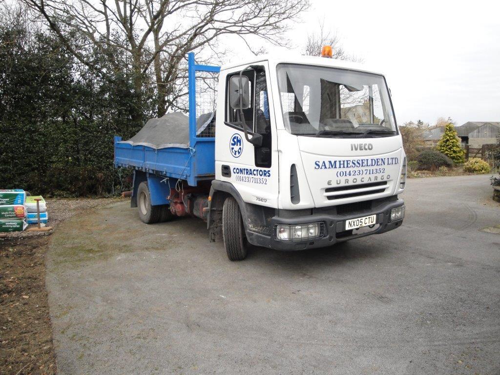 Sam Hesselden Limited truck